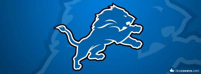Detroit Lions NFL Logo Facebook Covers