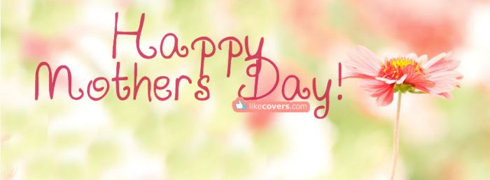 Happy Mothers light pink flowers