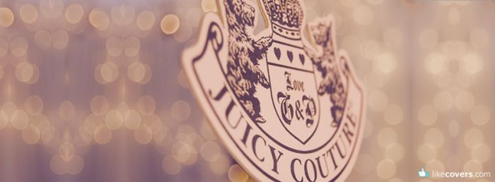 Juicy Couture Logo Bokeh Facebook Covers